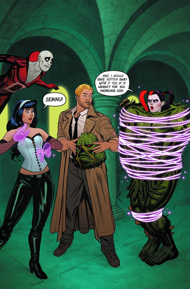 Justice League Dark #39 (Harley Quinn Cover)