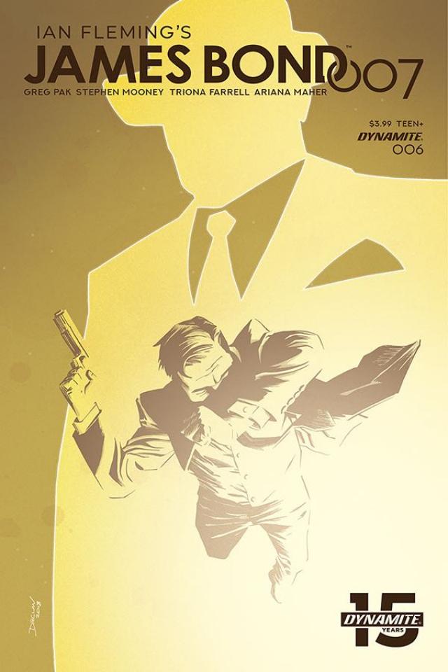 James Bond: 007 #6 (Shalvey Cover)