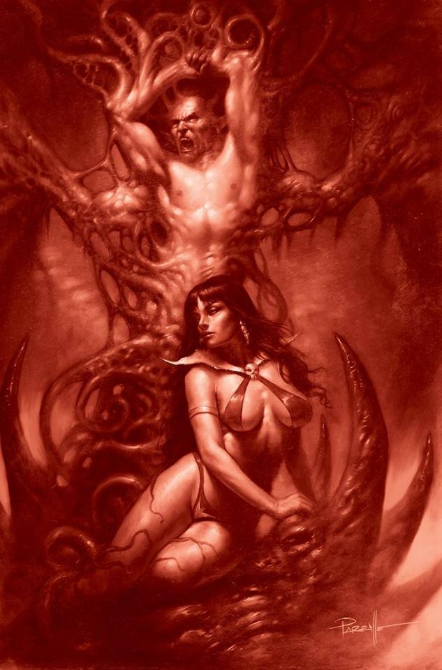 Vengeance of Vampirella #16 (35 Copy Parrilo Tint Virgin Cover)