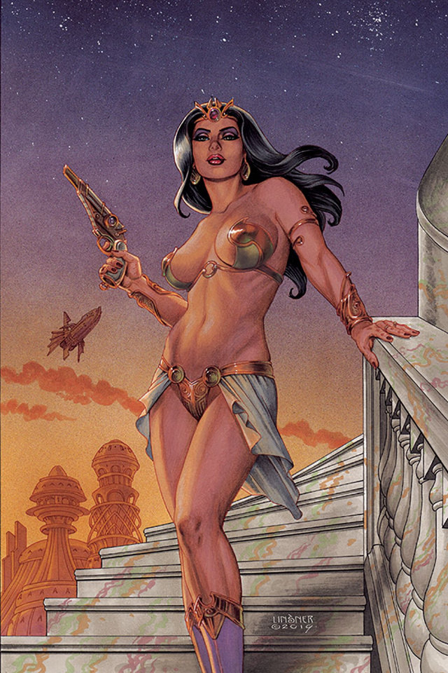 Dejah Thoris #1 (Linsner Virgin Cover)