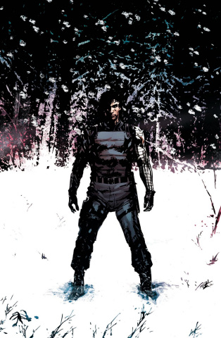 Winter Soldier #1 (Guice Cover)