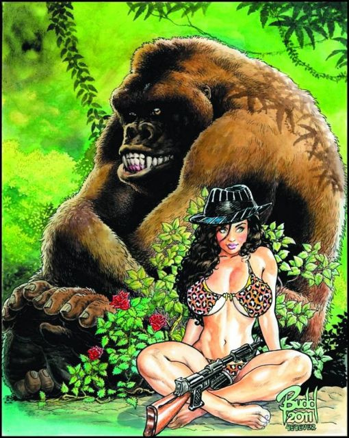 Cavewoman: Gangster #1 (Root Cover)