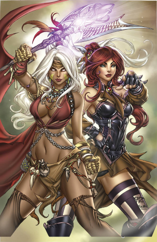 Grimm Fairy Tales: The Coven #3 (Pantalena Cover)
