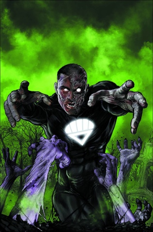 Green Lantern Corps #35 (Monsters Cover)