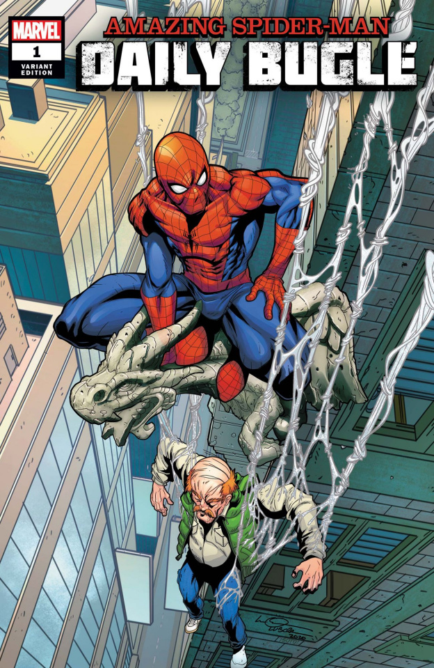 The Amazing Spider-Man: Daily Bugle #1 (Lubera Cover)