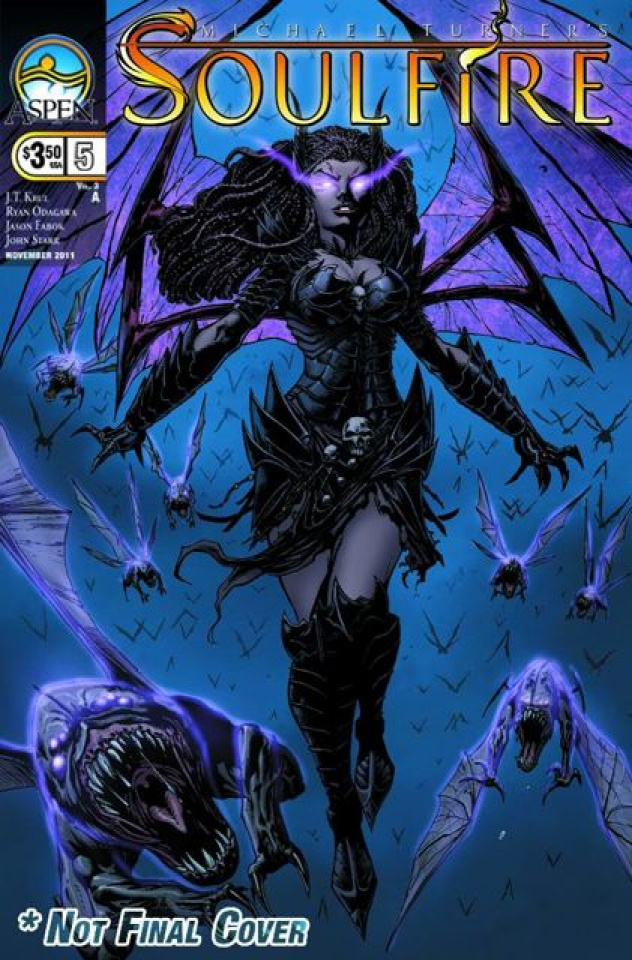Soulfire #5 (Fabok Cover)