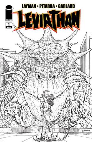 Leviathan #1 (10 Copy Pitarra B&W Cover)