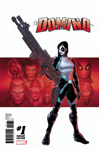 Domino #1 (Baldeon Cover)