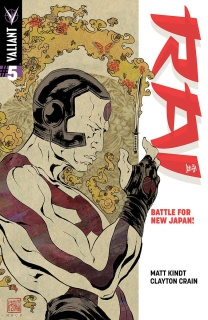 Rai #5 (Mack Cover)