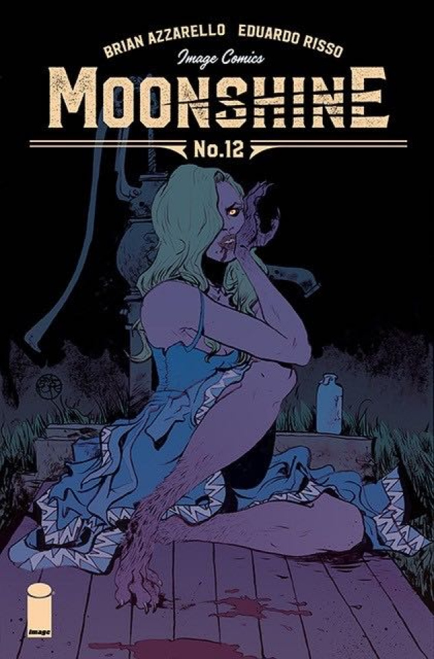 Moonshine #12 (Pope Cover)