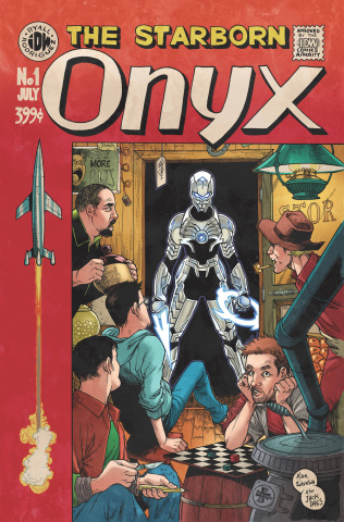 Onyx #1 (EC Subscription Cover)