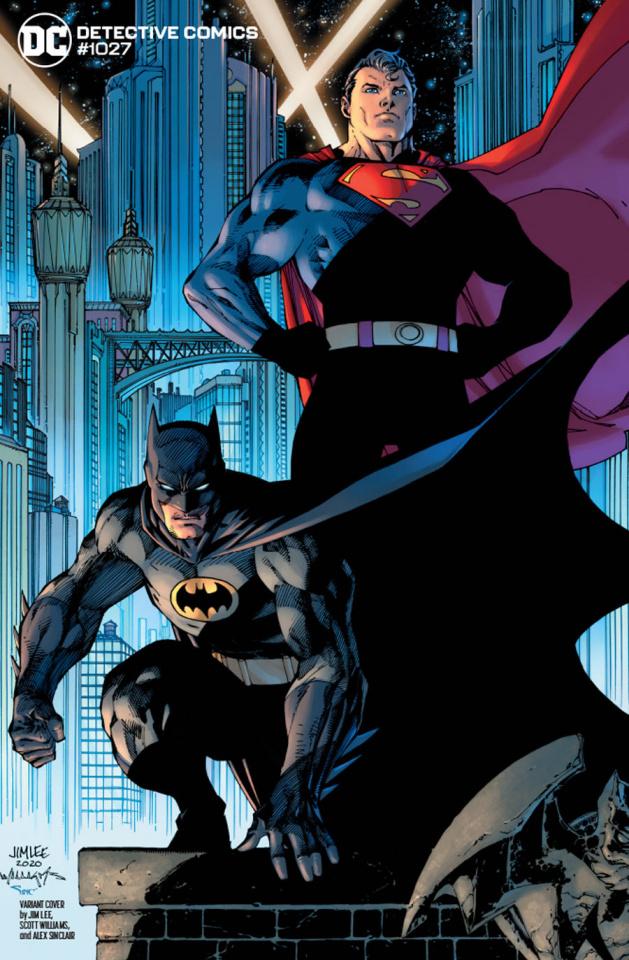 Detective Comics #1027 (Jim Lee Batman Superman Cover)