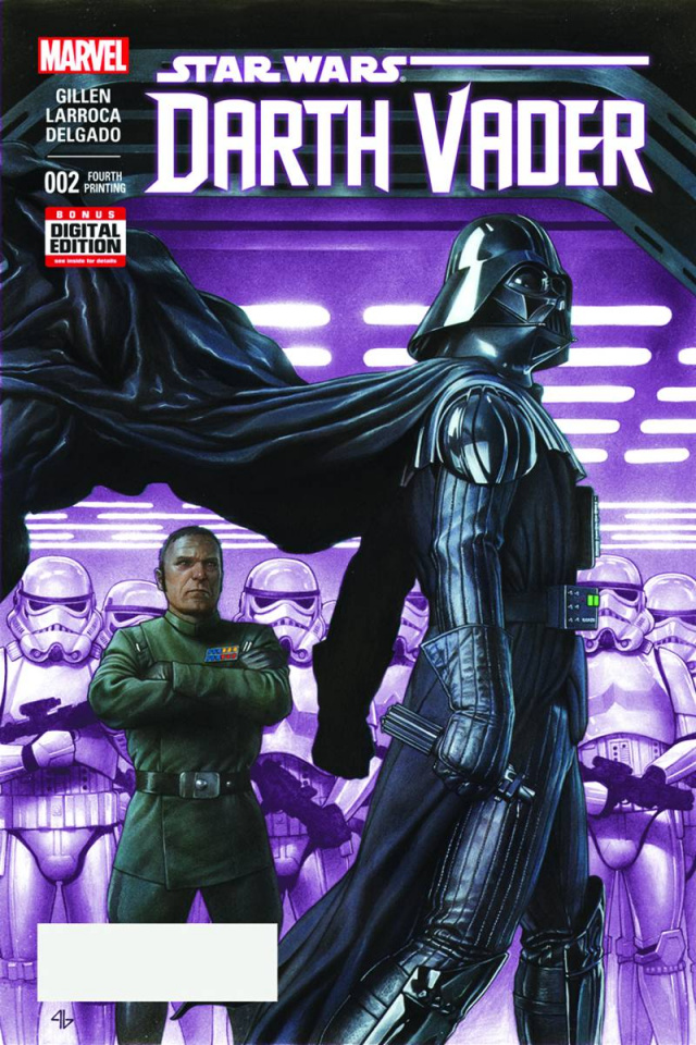 Darth Vader #2 (Granov 4th Printing)
