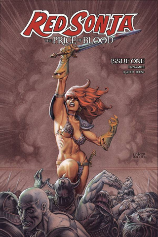 Red Sonja: The Price of Blood #1 (Linsner Cover)