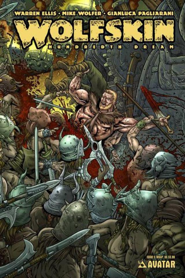 Wolfskin: Hundredth Dream #5 (Wrap Cover)