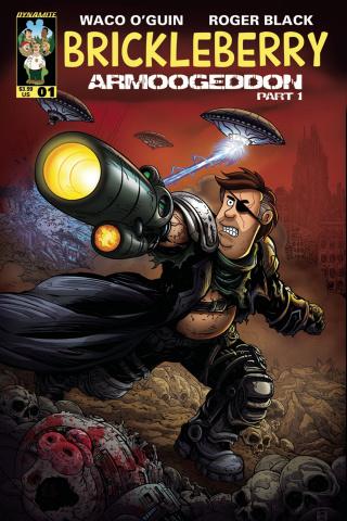Brickleberry #1 (Rebner Cover)