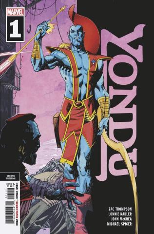 Yondu #1 (McCrea 2nd Printing)