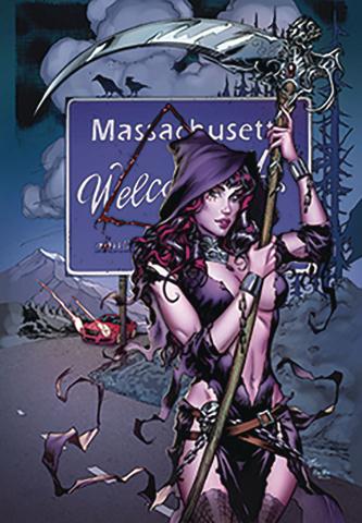 Grimm Tales of Terror: The Bridgewater Triangle #1 (Dooney Cover)