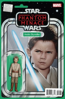 Obi-Wan & Anakin #1 (Christopher Action Figure Cover)