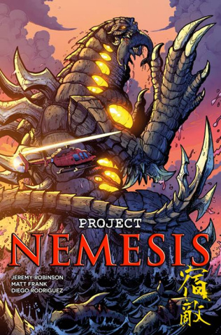 Project Nemesis #4 (Frank Cover)