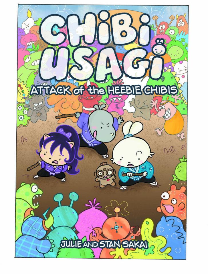 "Chibi Usagi"" Attack of the Heebie Chibis"