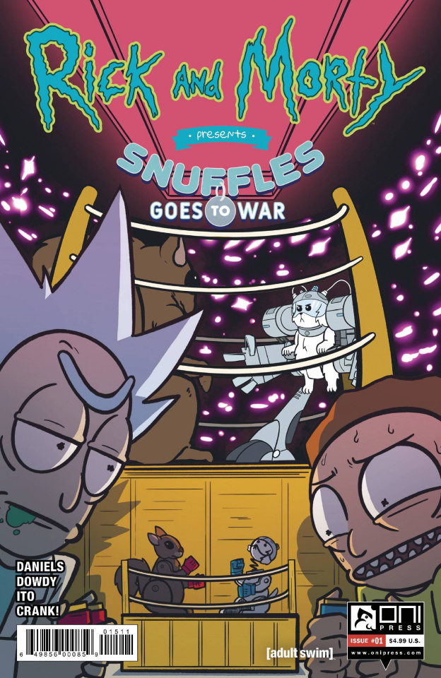 Rick and Morty Presents: Snuffles Goes To War #1 (Dowdy Cover)
