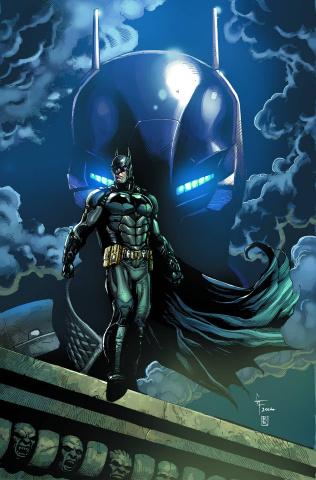 Batman: Arkham Knight #1 (Frank Cover)