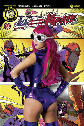Amerikarate #3 (April O'Neil Photo Cover)