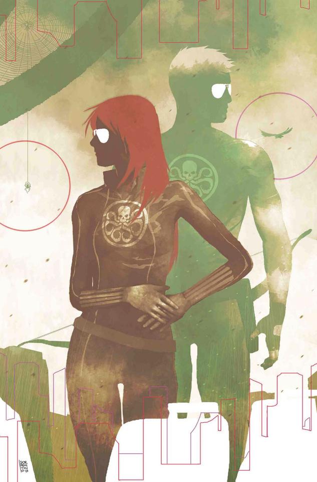 Secret Empire #9 (Sorrentino Hydra Heroes Cover)