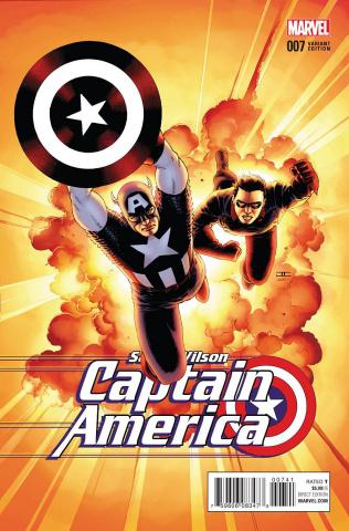 Captain America: Sam Wilson #7 (Cassaday Cover)
