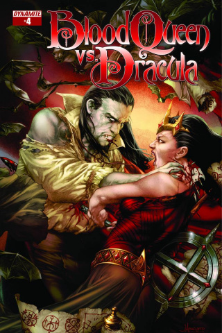 Blood Queen vs. Dracula #4 (Anacleto Cover)