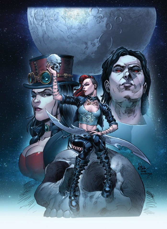 Grimm Fairy Tales: Hellchild #5 (Klosin Cover)