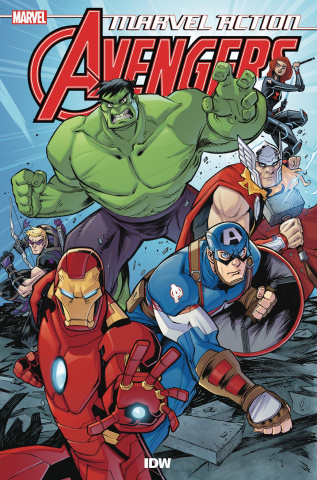 Marvel Action: Avengers Book 1: New Danger