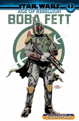 Star Wars: Age of Rebellion - Boba Fett #1 (Halloween Comic Fest)