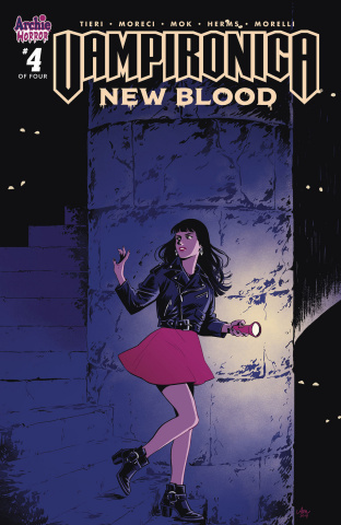 Vampironica: New Blood #4 (Mok Cover)