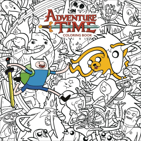 Adventure Time: Adult Coloring Book