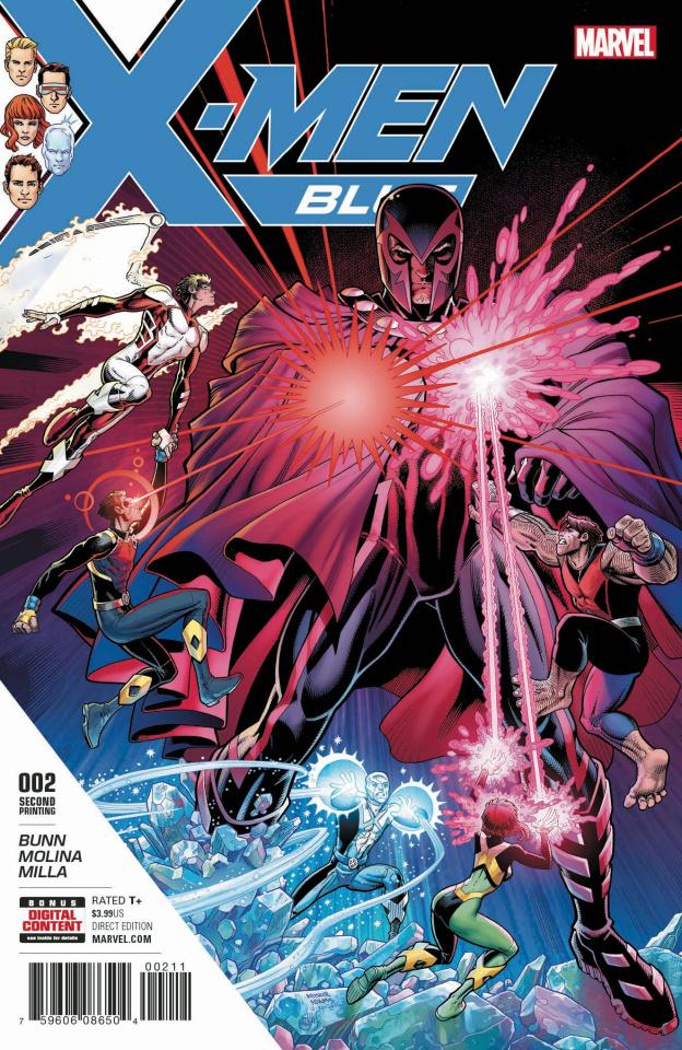 X-Men: Blue #2 (2nd Printing Art Adams Cover)