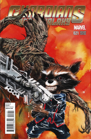 Guardians of the Galaxy #21 (Rocket Raccoon & Groot Cover)