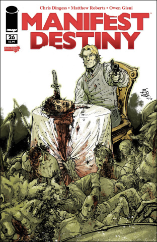 Manifest Destiny #26 (Image Tribute Cover)