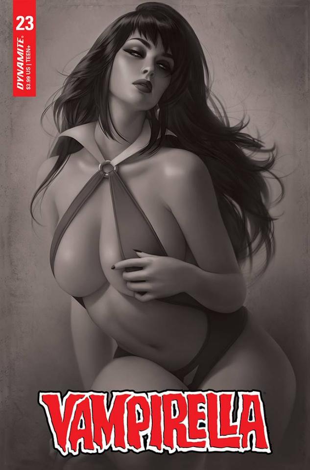 Vampirella #23 (20 Copy Louw Cover)