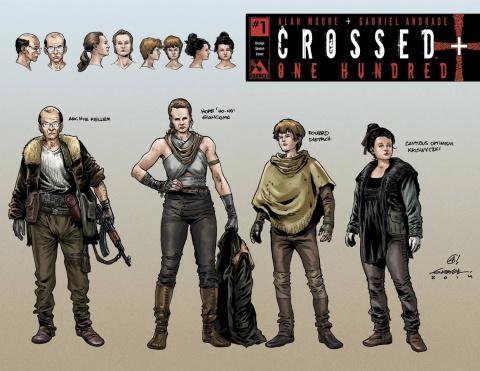 Crossed + One Hundred #1 (Design Sketch Cover)