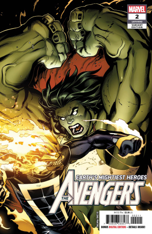 Avengers #2 (McGuinness 2nd Printing)