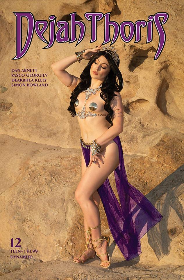 Dejah Thoris #12 (Hollon Cosplay Cover)