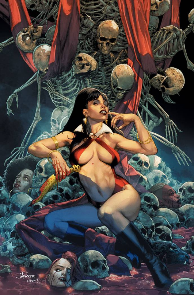 Sacred Six #8 (10 Copy Anacleto Virgin Cover)