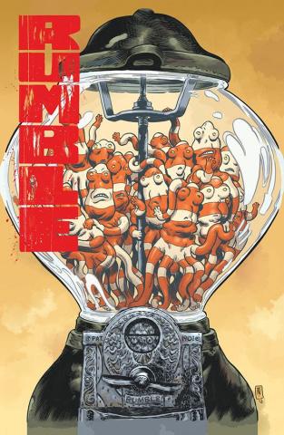 Rumble #10 (Nixey & Stewart Cover)