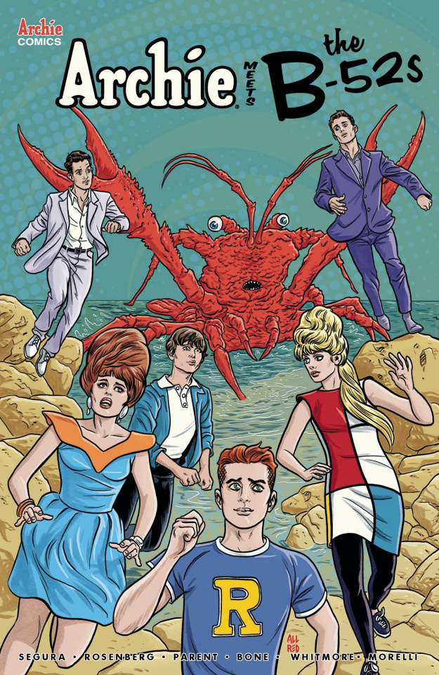 Archie Meets the B-52s #1 (Allred Cover)