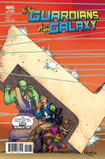 All-New Guardians of the Galaxy #1 (Kuder Cover)