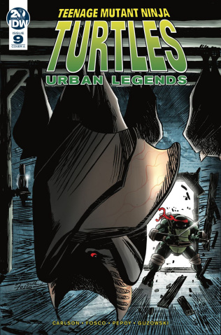 Teenage Mutant Ninja Turtles: Urban Legends #9 (Fosco Cover)