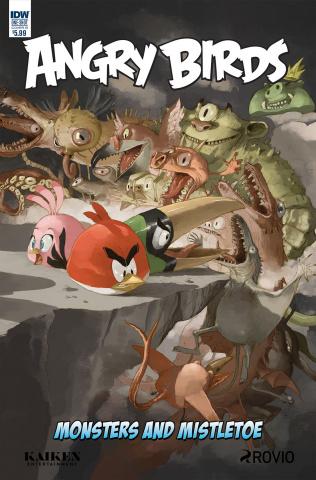 Angry Birds Comics Quarterly (Sandoval Cover)