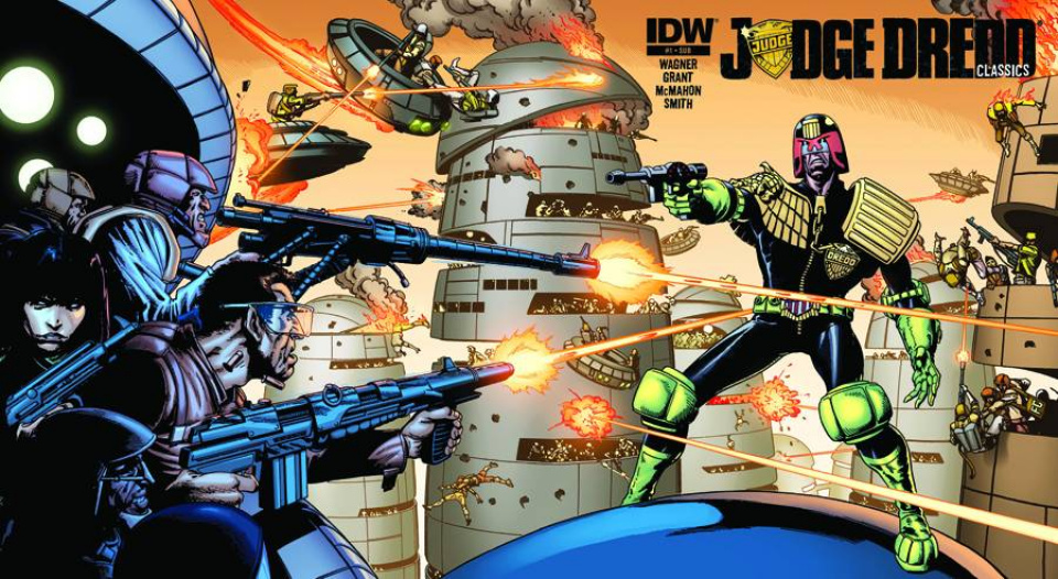 Judge Dredd Classics #1 (Subscription Cover)